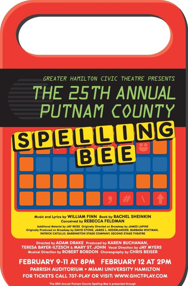 ...25th ANNUAL PUTNAM COUNTY SPELLING BEE... (1/2)