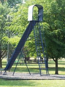 The slide...