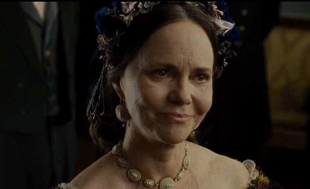 Sally Field as Mary Todd Lincoln (1/3)